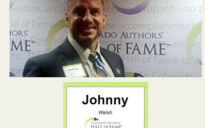 2019 Nominee for The Colorado Author's Hall of Fame Johnny Welsh
